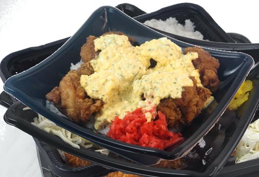 タルタル若鶏から揚げ弁当